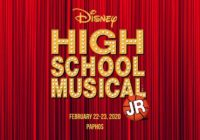 Premiere of the world famous High School Musical by Disney