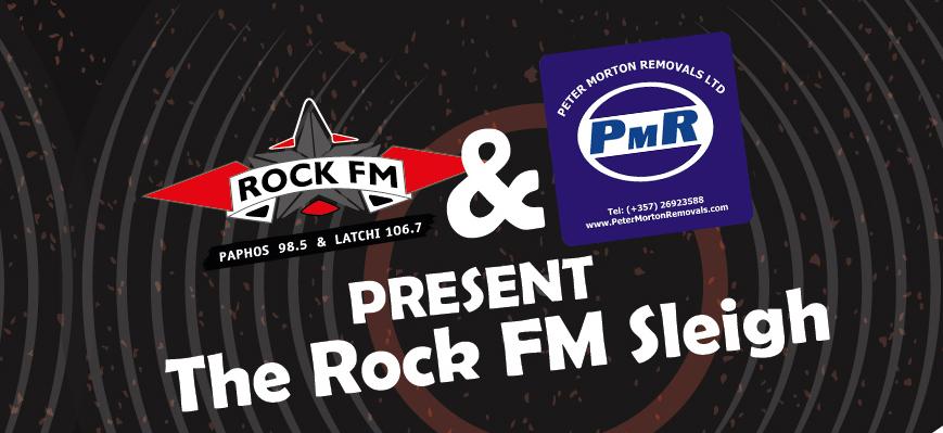 """Rock FM 98.5 & Peter Morton""  Presents The Rock FM Sleigh"