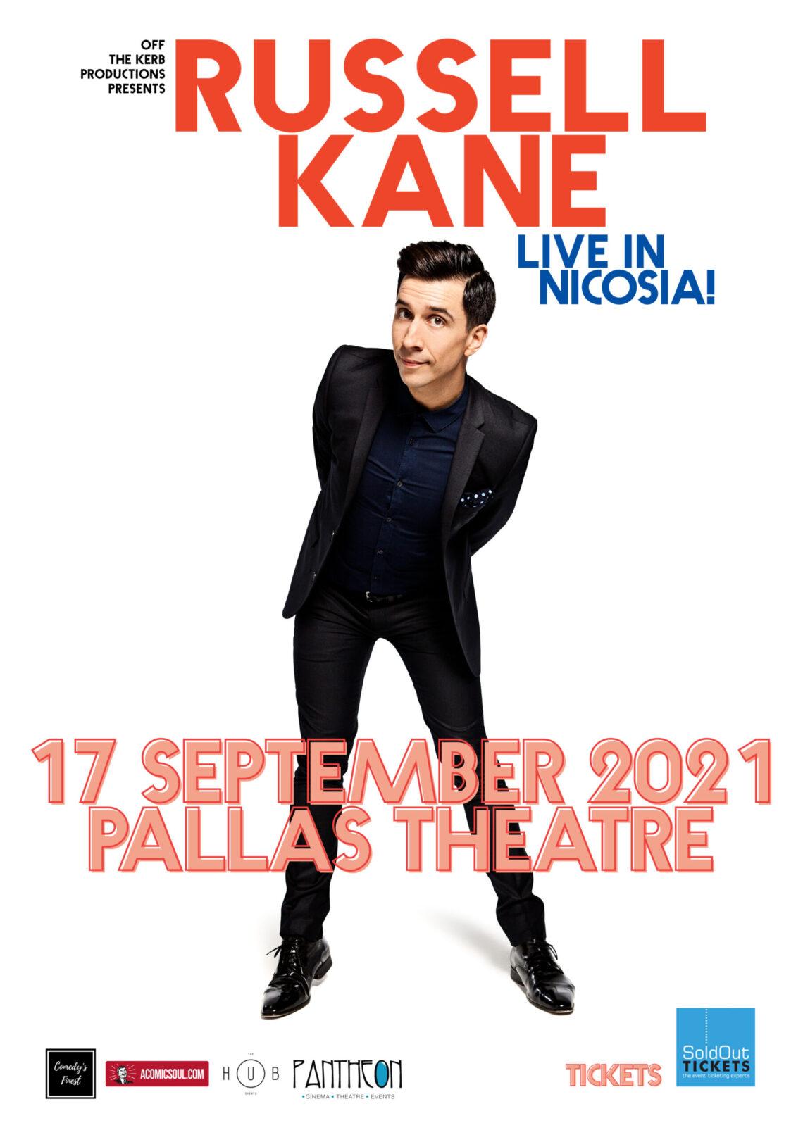 Russel Kane in Cyprus